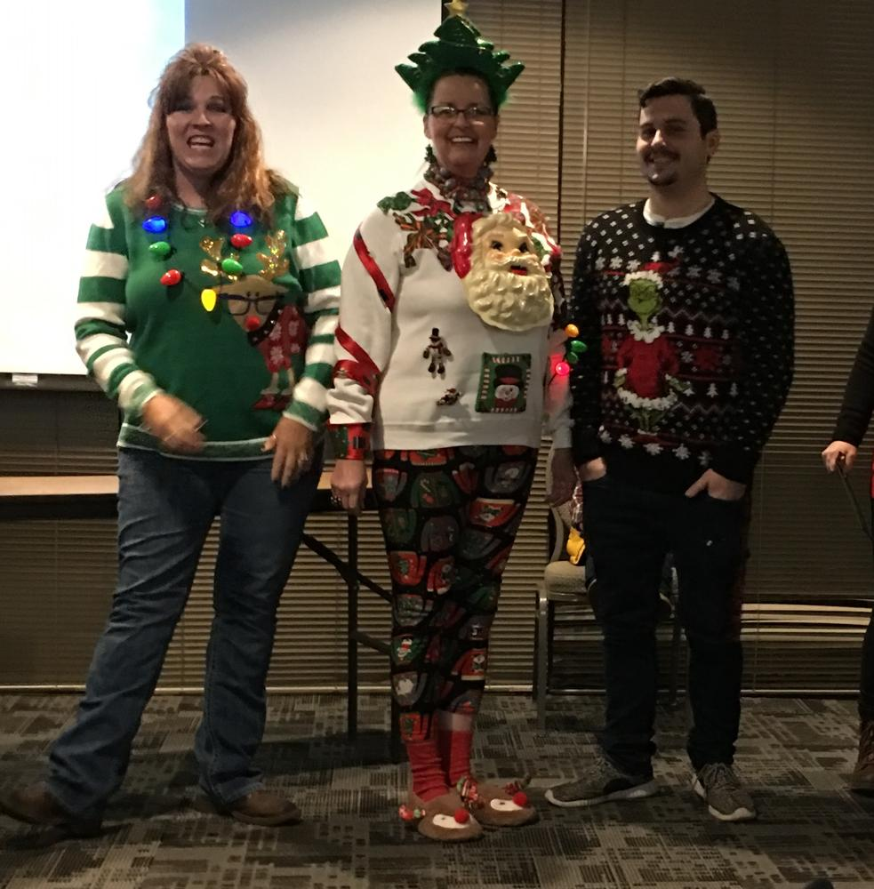 Ugly Sweater Winner