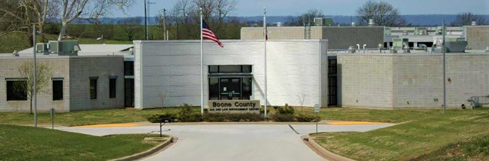 Boone County Arkansas Jail and Law Enforcement Center Entrance